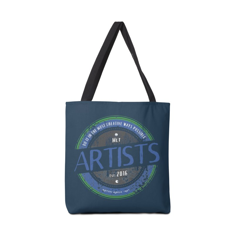 Artists Do It... Accessories Bag by AntonAbela-Art's Artist Shop