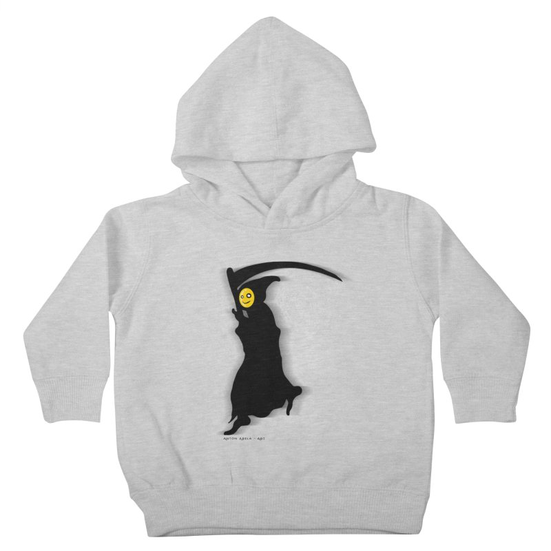 Masked Reaper Kids Toddler Pullover Hoody by AntonAbela-Art's Artist Shop