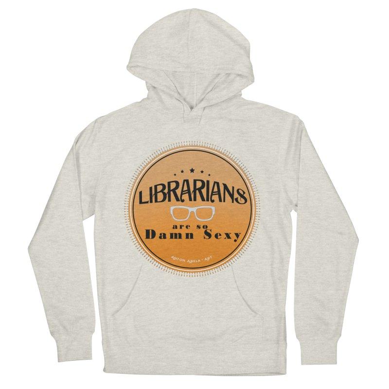 Librarians are... Women's Pullover Hoody by AntonAbela-Art's Artist Shop