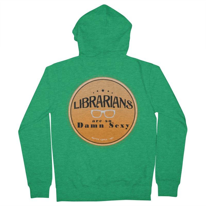 Librarians are... Women's Zip-Up Hoody by AntonAbela-Art's Artist Shop