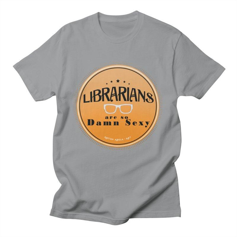 Librarians are... Men's T-Shirt by AntonAbela-Art's Artist Shop