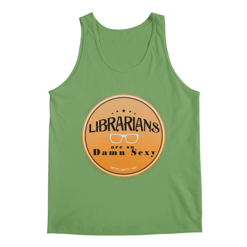 Librarians are... Men's Tank by AntonAbela-Art's Artist Shop