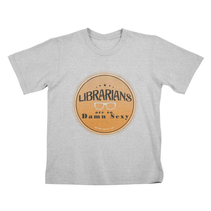 Librarians are... Kids T-Shirt by AntonAbela-Art's Artist Shop