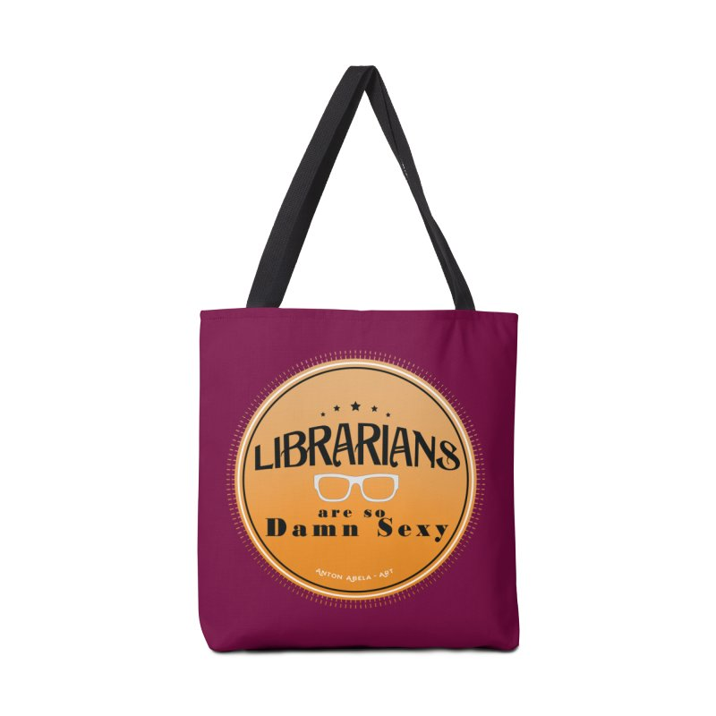 Librarians are... Accessories Tote Bag Bag by AntonAbela-Art's Artist Shop