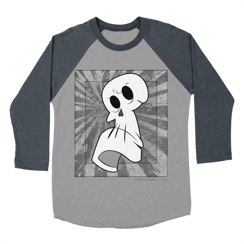 Uncle Grim Women's Baseball Triblend T-Shirt by AntonAbela-Art's Artist Shop