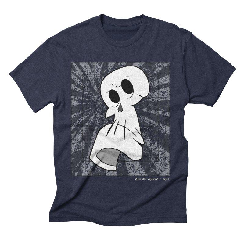 Uncle Grim Men's Triblend T-shirt by AntonAbela-Art's Artist Shop