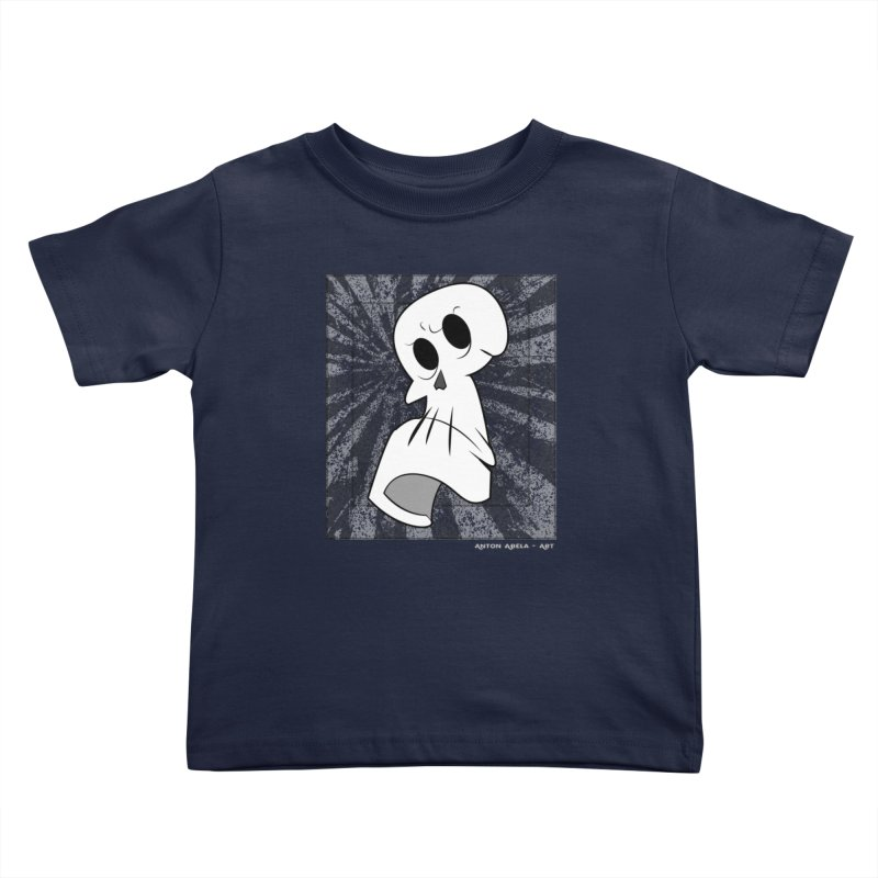 Uncle Grim Kids Toddler T-Shirt by AntonAbela-Art's Artist Shop