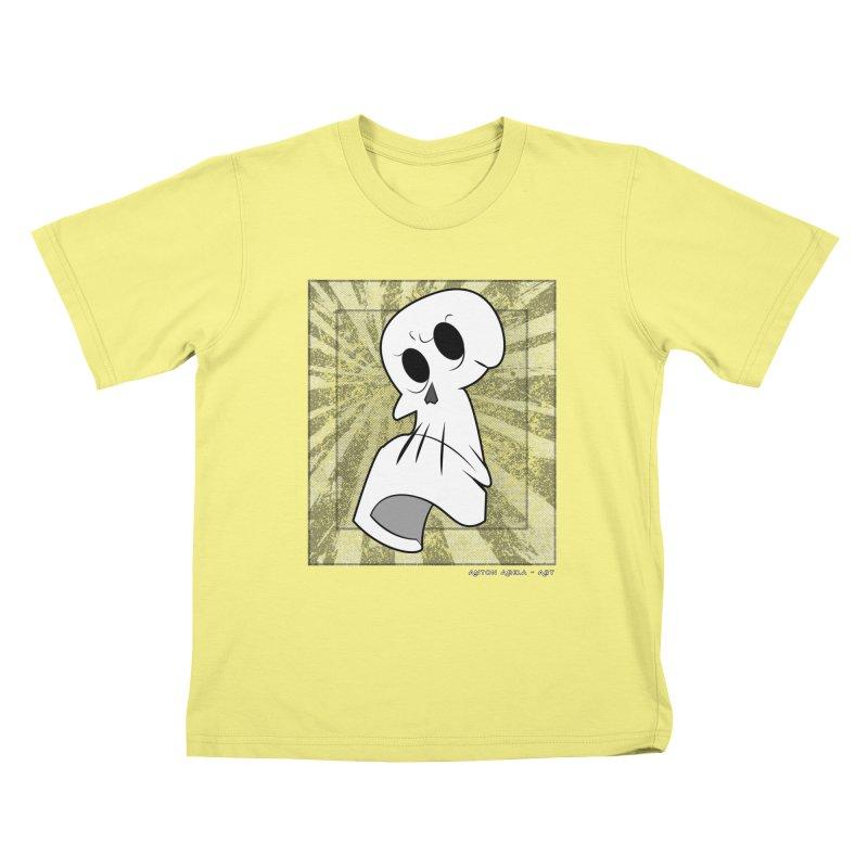 Uncle Grim Kids T-shirt by AntonAbela-Art's Artist Shop