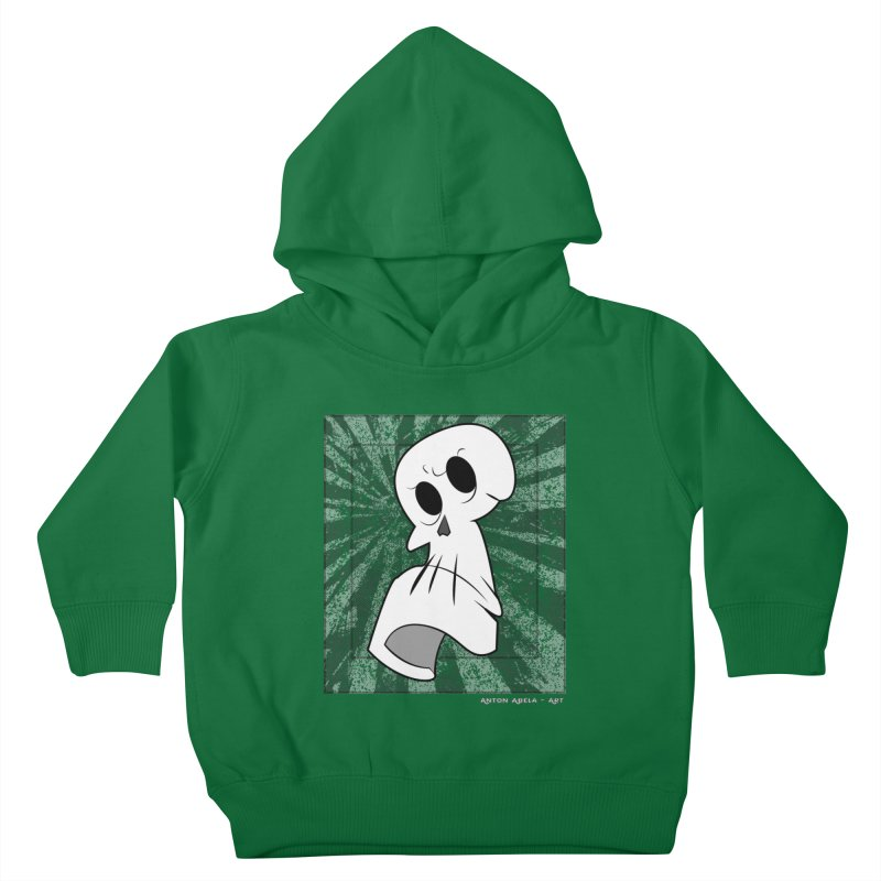 Uncle Grim Kids Toddler Pullover Hoody by AntonAbela-Art's Artist Shop