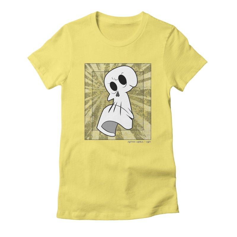 Uncle Grim Women's Fitted T-Shirt by AntonAbela-Art's Artist Shop