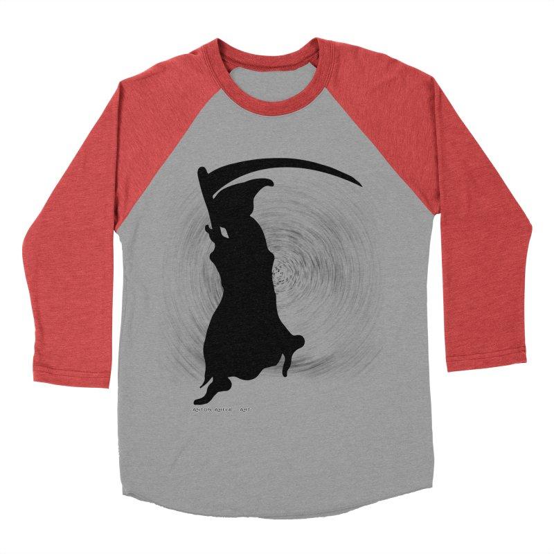 The Reaper Women's Baseball Triblend T-Shirt by AntonAbela-Art's Artist Shop