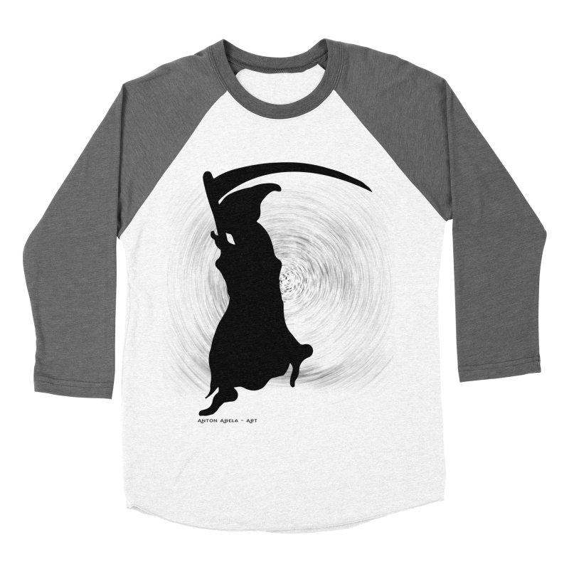The Reaper Men's Baseball Triblend T-Shirt by AntonAbela-Art's Artist Shop