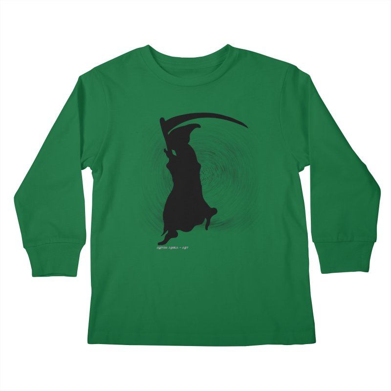 The Reaper Kids Longsleeve T-Shirt by AntonAbela-Art's Artist Shop