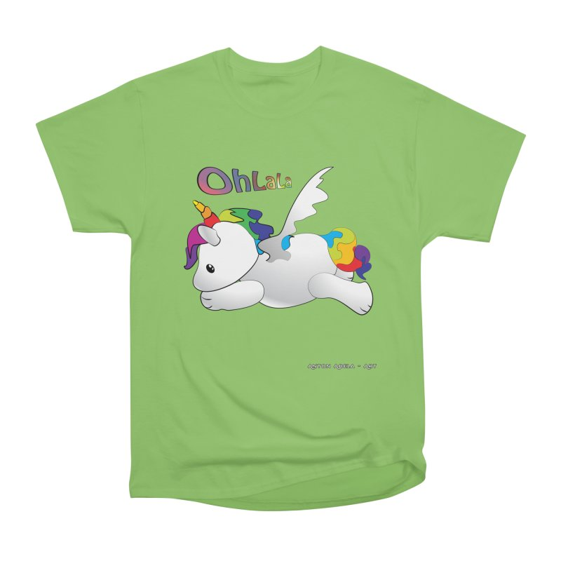 Wee'lil Unicorn Men's T-Shirt by AntonAbela-Art's Artist Shop