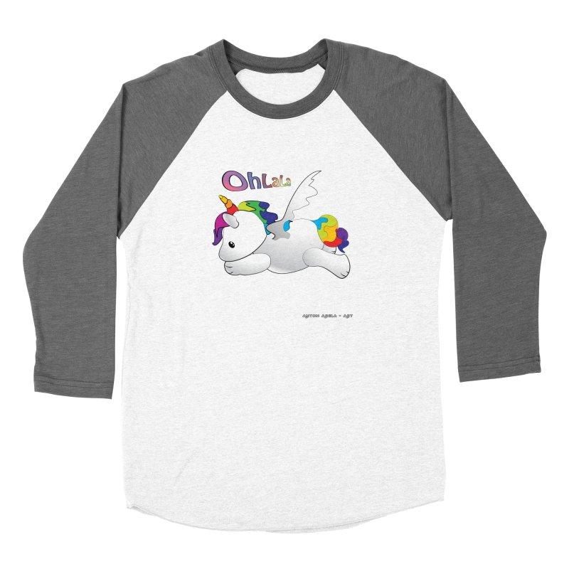 Wee'lil Unicorn Women's Longsleeve T-Shirt by AntonAbela-Art's Artist Shop