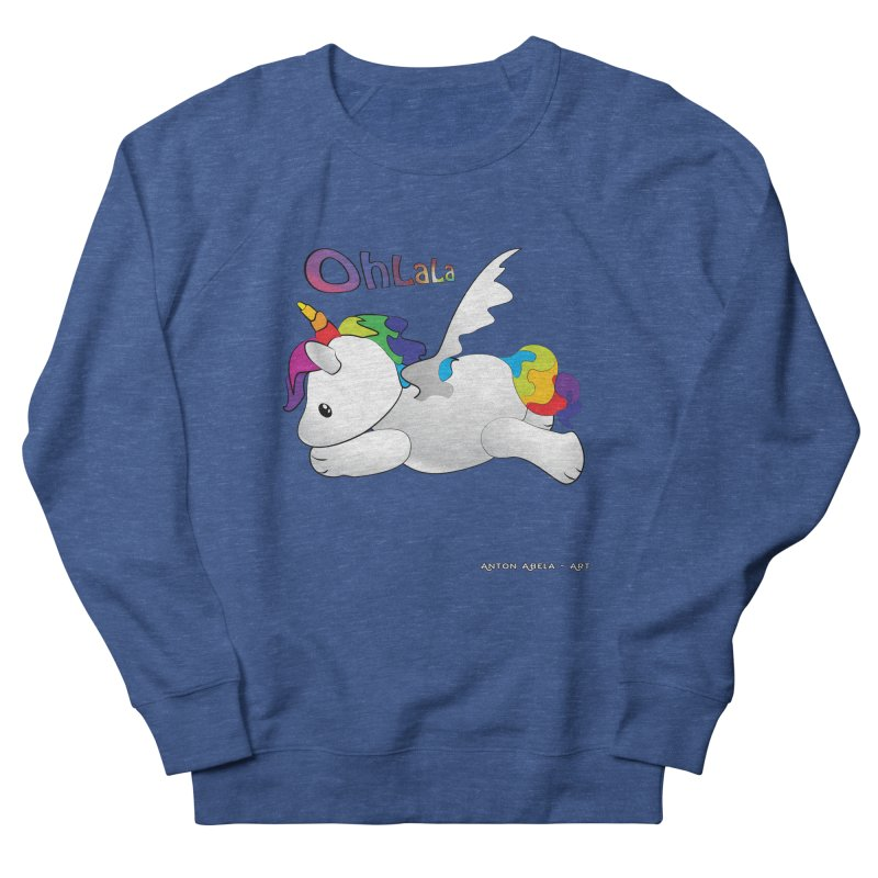 Wee'lil Unicorn Women's Sweatshirt by AntonAbela-Art's Artist Shop