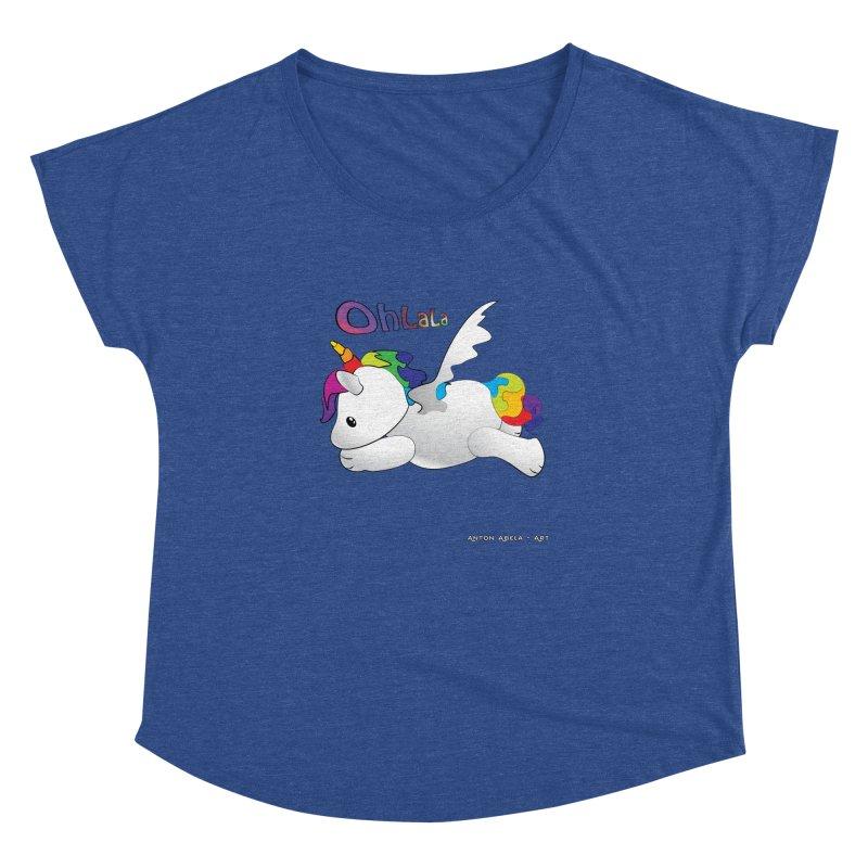 Wee'lil Unicorn Women's Dolman by AntonAbela-Art's Artist Shop