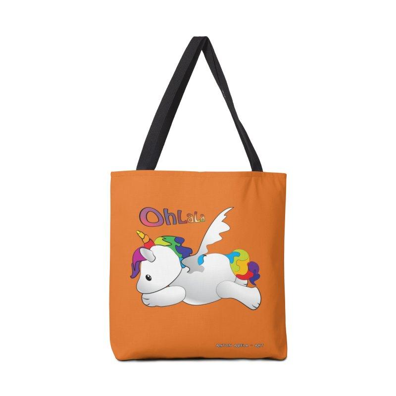 Wee'lil Unicorn Accessories Bag by AntonAbela-Art's Artist Shop