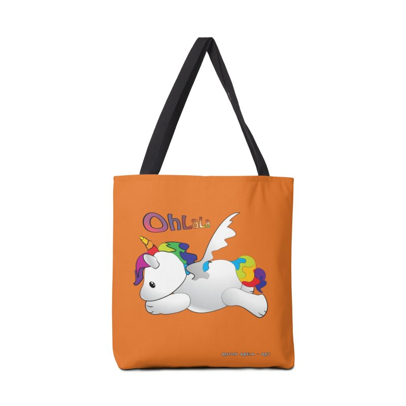 Wee'lil Unicorn Accessories Bag by AntonAbela-Art's Artist Shop