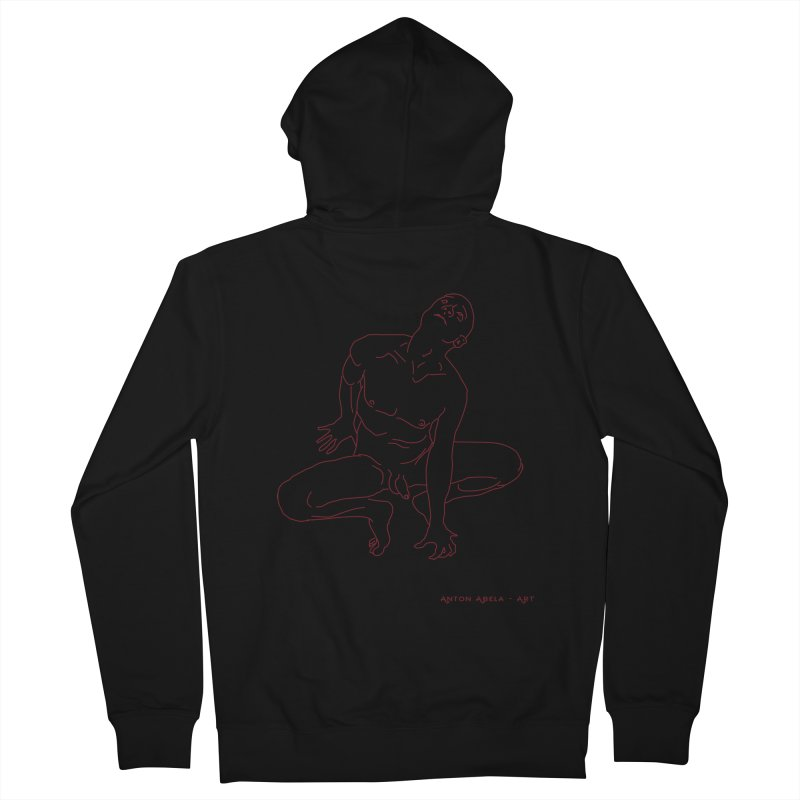 Rapture Men's Zip-Up Hoody by AntonAbela-Art's Artist Shop