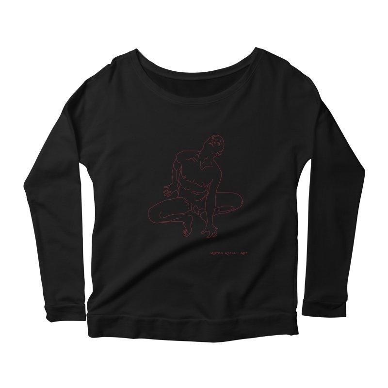 Rapture Women's Scoop Neck Longsleeve T-Shirt by AntonAbela-Art's Artist Shop