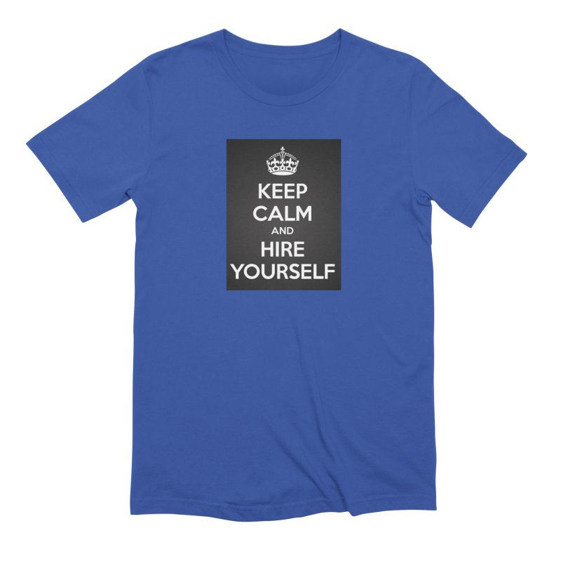 New Hire Men's Extra Soft T-Shirt by Antonio's Artist Shop