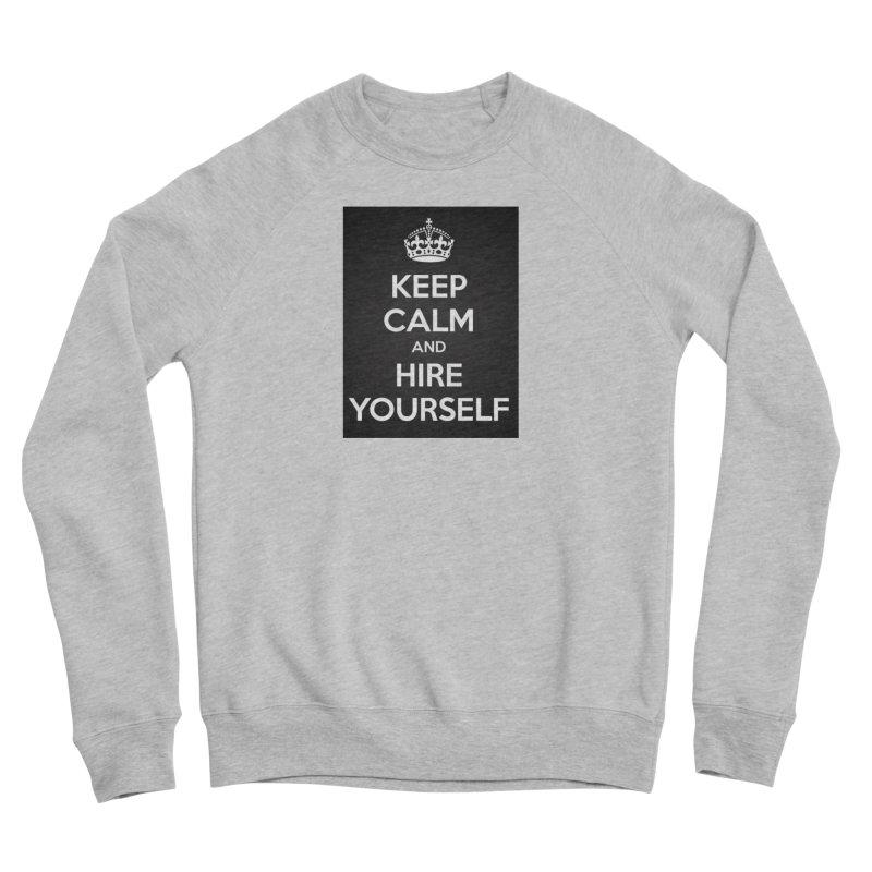 New Hire Men's Sponge Fleece Sweatshirt by Antonio's Artist Shop