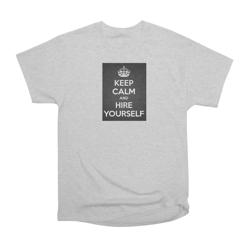 New Hire Men's T-Shirt by Antonio's Artist Shop