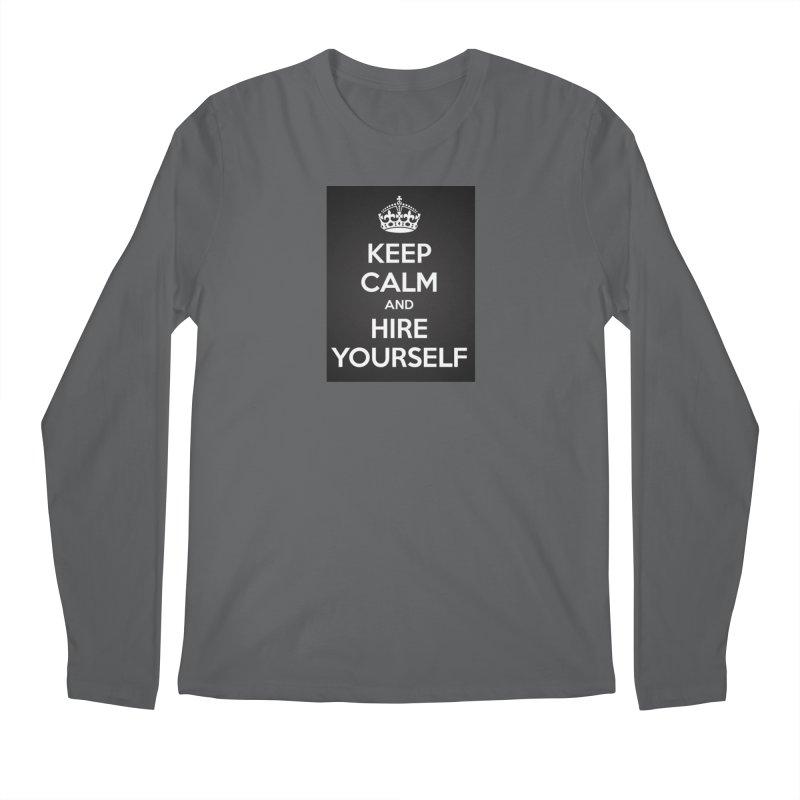 New Hire Men's Longsleeve T-Shirt by Antonio's Artist Shop