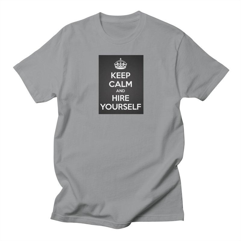 New Hire Men's Regular T-Shirt by Antonio's Artist Shop