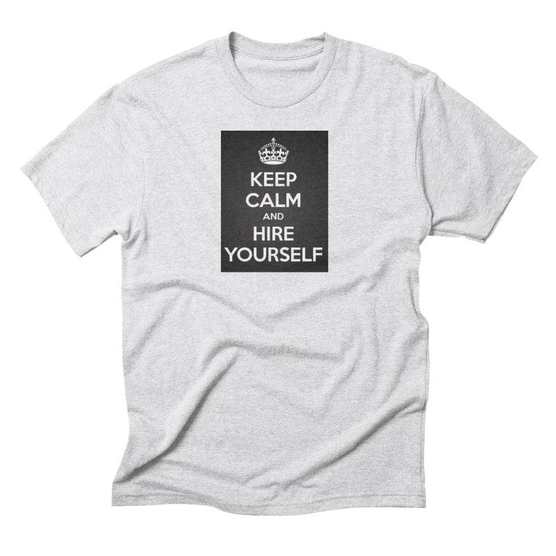 New Hire Men's Triblend T-Shirt by Antonio's Artist Shop