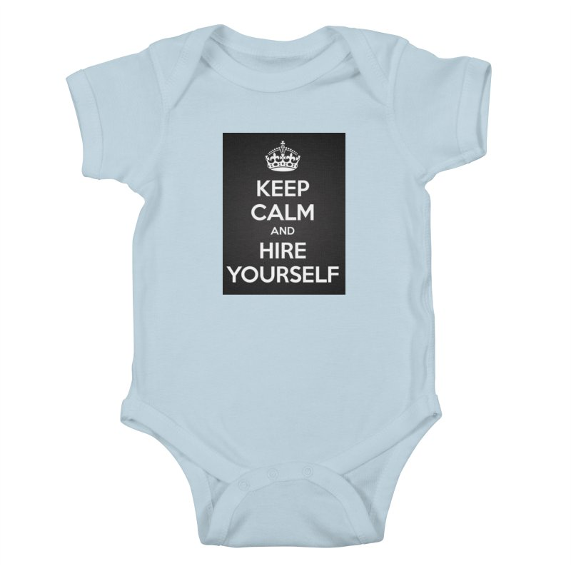 New Hire Kids Baby Bodysuit by Antonio's Artist Shop
