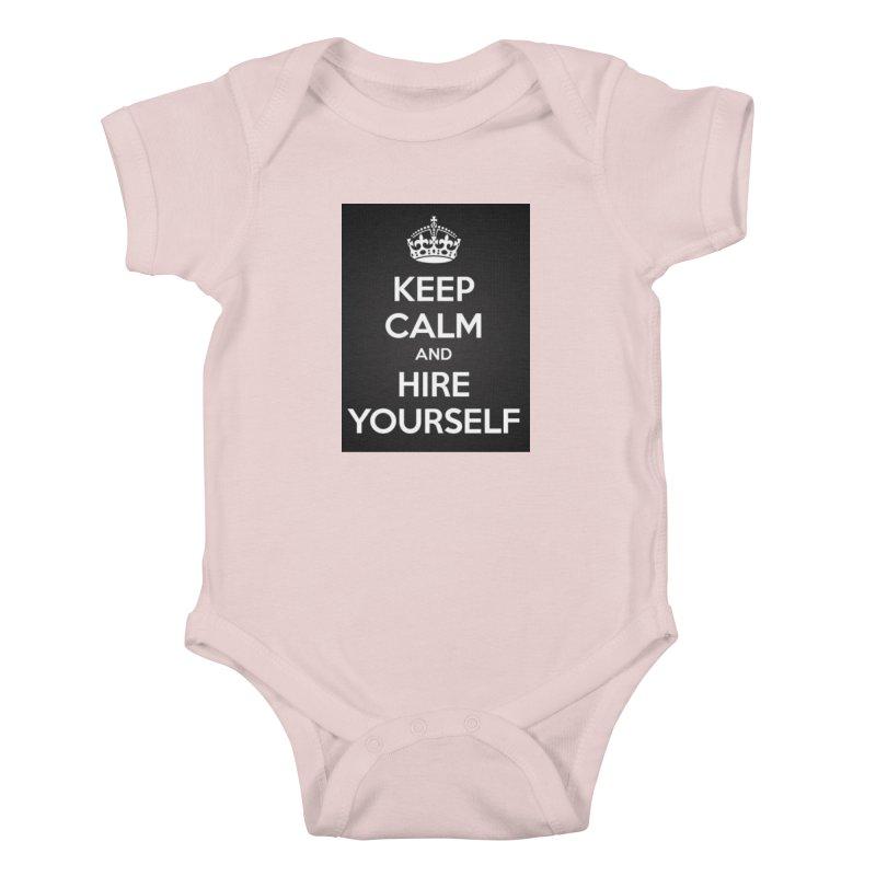 New Hire Kids Baby Bodysuit by Antonio's Artist Shop