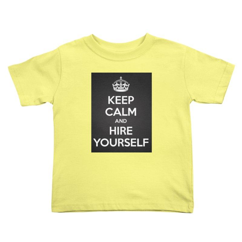 New Hire Kids Toddler T-Shirt by Antonio's Artist Shop