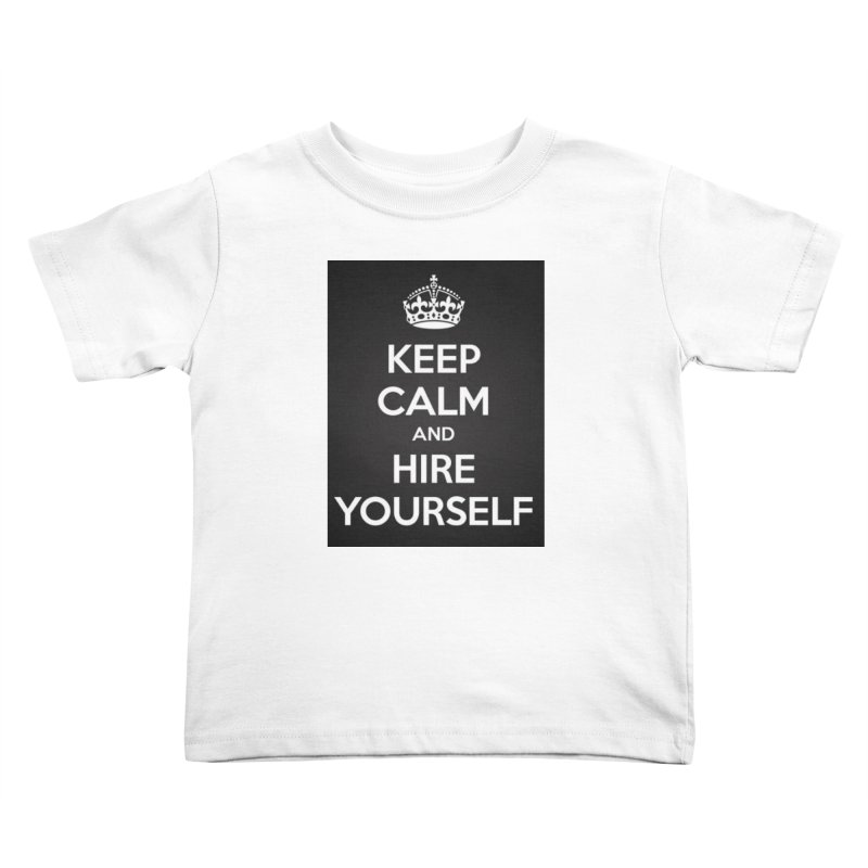 New Hire Kids Toddler T-Shirt by Antonio's Artist Shop