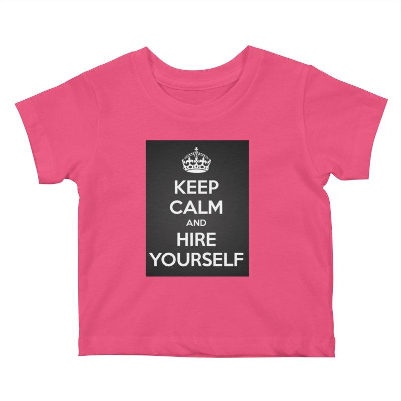 New Hire Kids Baby T-Shirt by Antonio's Artist Shop