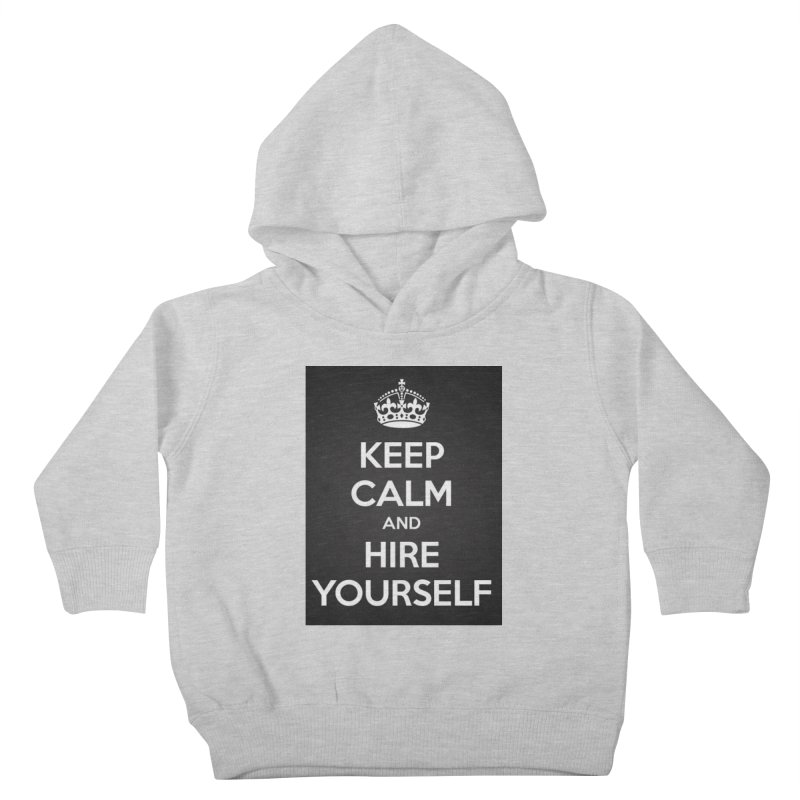 New Hire Kids Toddler Pullover Hoody by Antonio's Artist Shop
