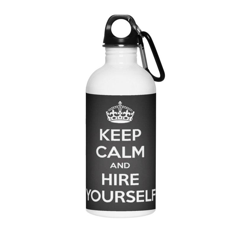 New Hire Accessories Water Bottle by Antonio's Artist Shop