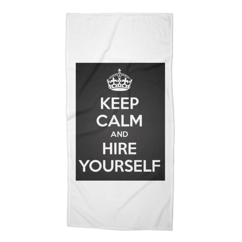 New Hire Accessories Beach Towel by Antonio's Artist Shop
