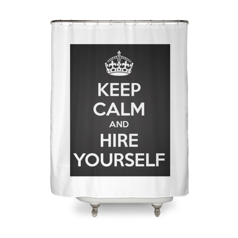New Hire Home Shower Curtain by Antonio's Artist Shop