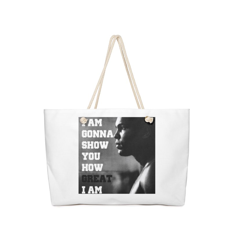 Greatness Accessories Bag by Antonio's Artist Shop