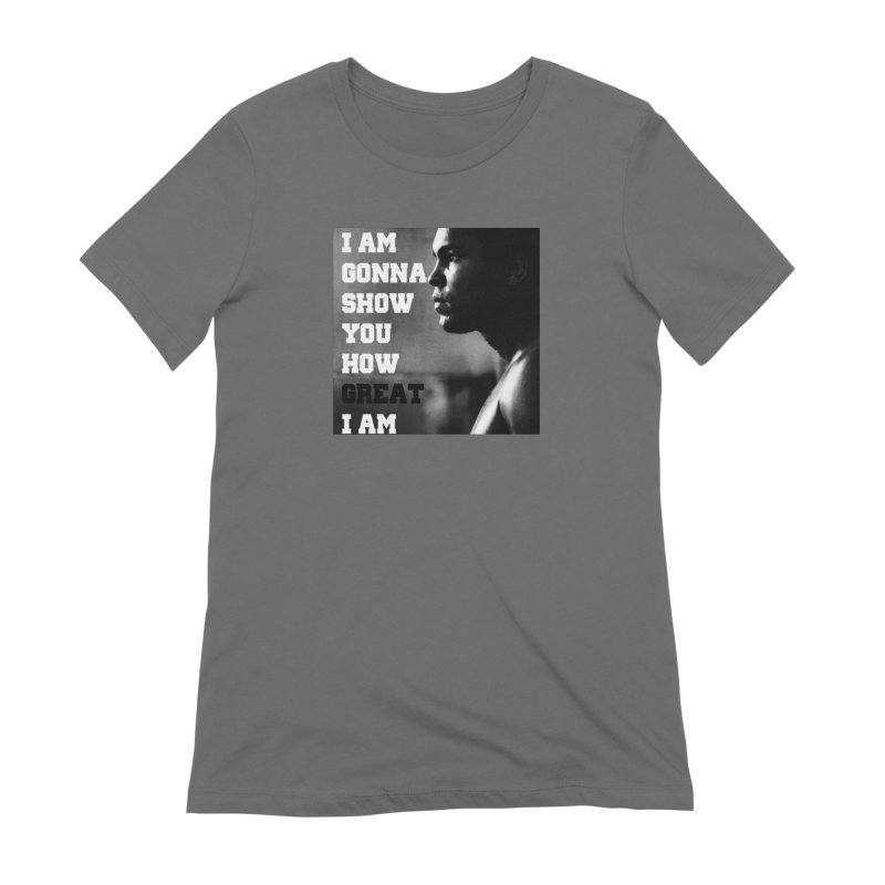 Greatness Women's T-Shirt by Antonio's Artist Shop