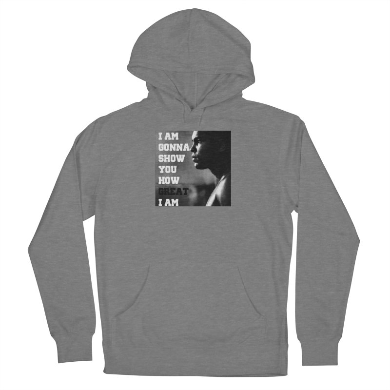 Greatness Women's Pullover Hoody by Antonio's Artist Shop