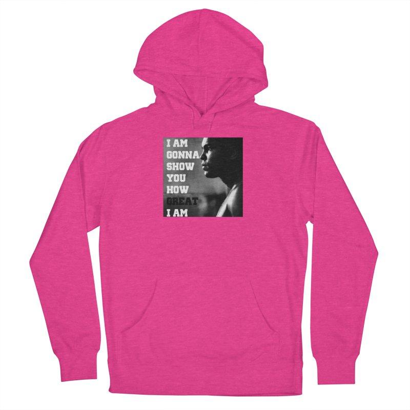 Greatness Women's Pullover Hoody by Antonio's Artist Shop