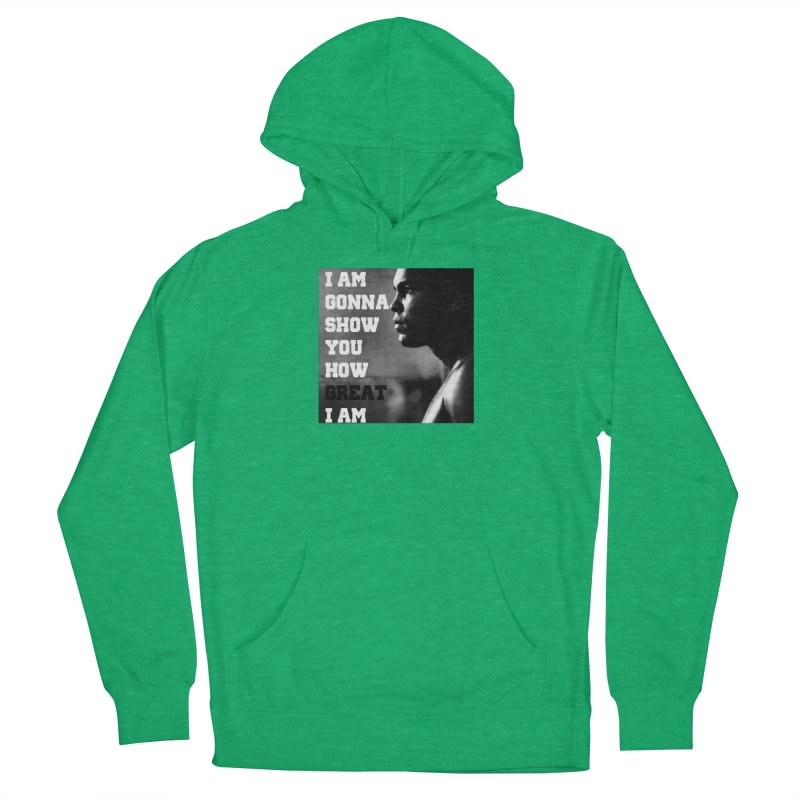 Greatness Men's Pullover Hoody by Antonio's Artist Shop