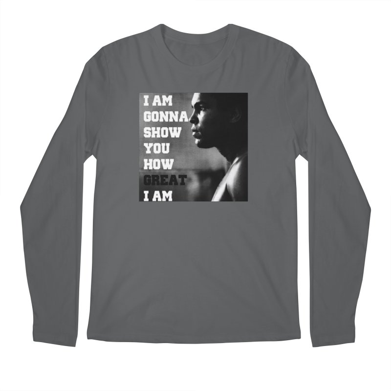 Greatness Men's Regular Longsleeve T-Shirt by Antonio's Artist Shop