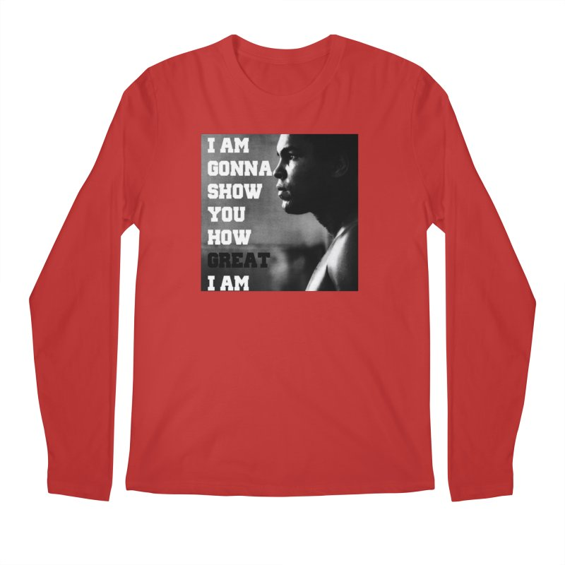 Greatness Men's Longsleeve T-Shirt by Antonio's Artist Shop