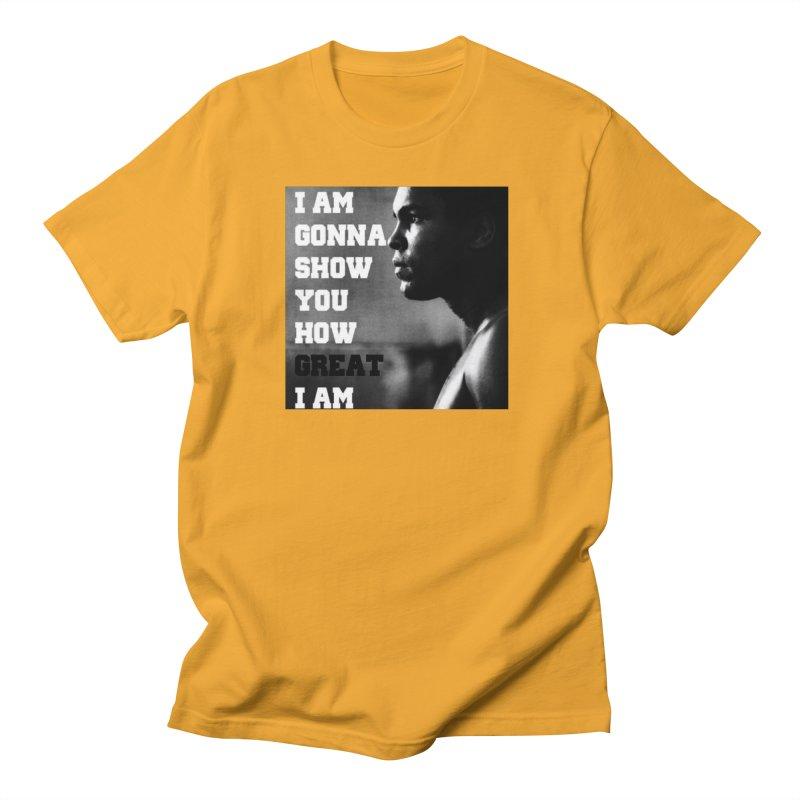 Greatness Men's T-Shirt by Antonio's Artist Shop