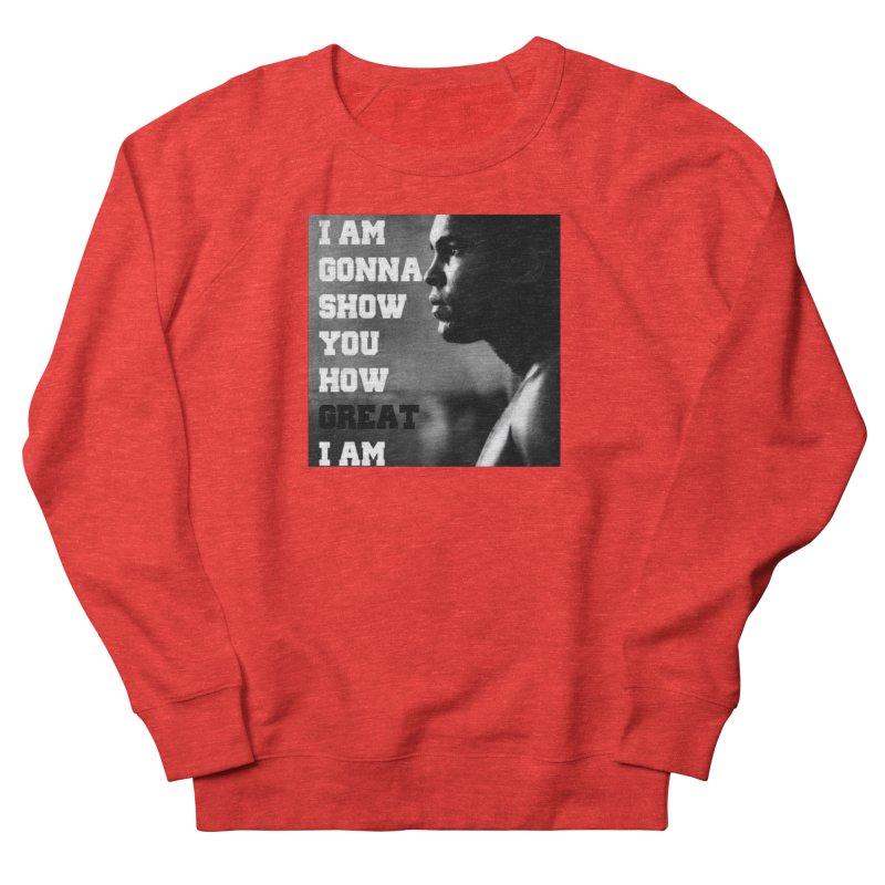 Greatness Men's Sweatshirt by Antonio's Artist Shop
