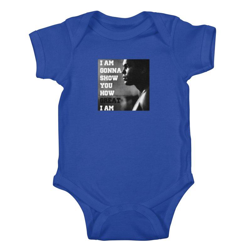 Greatness Kids Baby Bodysuit by Antonio's Artist Shop